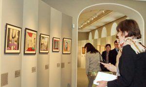 Экскурсию по выставке картин в формате онлайн проведет парк «Красная Пресня». Фото: архив, «Вечерняя Москва»