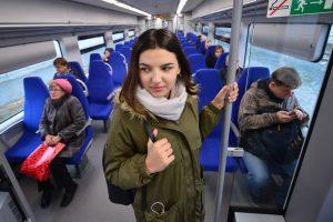 Поезда МЦК за октябрь перевезли 10 миллионов пассажиров. Фото: «Вечерняя Москва»