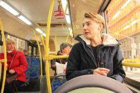 «По пути», «Союз» или «Твойбус». Москвичи выбирают названия для автобусов по требованию. Фото: Наталия Нечаева, «Вечерняя Москва»