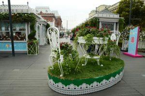В Москве проходит фестиваль «Цветочный джем». Фото: Анна Быкова