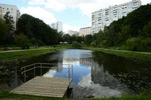 Благоустройство дворовых территорий в районе завершили в конце прошлой недели. Фото: Анна Быкова, «Вечерняя Москва»
