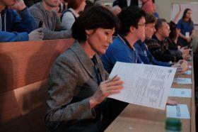 Круглый стол на тему генетических технологий состоялся в Юридическом университете имени Олега Кутафина. Фото: Максим Аносов