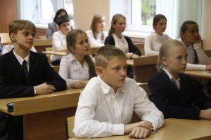Викторину о Дне здоровья провели в школе №1239. Фото: Павел Волков, «Вечерняя Москва»