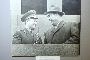 Приуроченная к 85-летию со дня рождения Юрия Гагарина выставка стартовала в Московском планетарии. Фото из архива «Вечерняя Москва»