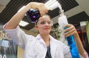 Работники Биологического музея устроят химическим праздник . Фото: Наталия Нечаева, «Вечерняя Москва»