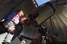 Московский планетарий опубликовал запись о весеннем звездопаде. Фото: Александр Казаков, «Вечерняя Москва»