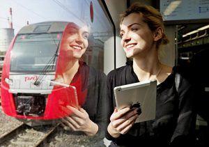Пассажиры осуществляют движение по МЦК уже три года. Фото: Антон Гердо, «Вечерняя Москва»