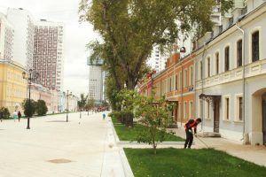 Работы по комплексному благоустройству проведут в районе. Фото: Наталия Нечаева, «Вечерняя Москва»