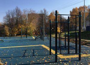 Ремонтные работы завершили в районном дворе. Фото: Анна Быкова