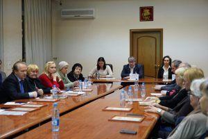 Глава управы района встретился с общественными советниками. Фото: Денис Кондратьев