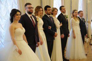 Свыше 470 пар зарегистрируют брак в ЗАГСах столицы 31 декабря. Фото: Светлана Колоскова, «Вечерняя Москва»