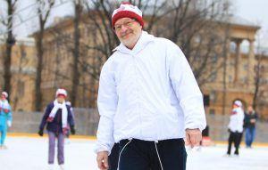 Занятие по фигурному катанию проведут в парке «Красная Пресня». Фото: Наталия Нечаева, «Вечерняя Москва»