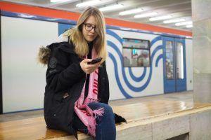 Пассажиры столичного транспорта стали чаще пользоваться приложением «Узнай Москву».Фото: архив, «Вечерняя Москва»