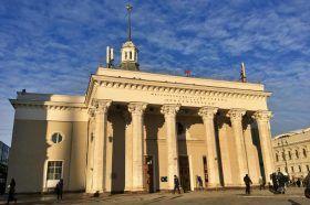 Лекцию об архитектуре станции метро «Комсомольская» организуют в библиотеке №10. Фото: Анна Быкова