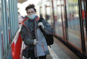 Жителям Москвы напомнили о масочном режиме. Фото: Наталия Нечаева, «Вечерняя Москва»