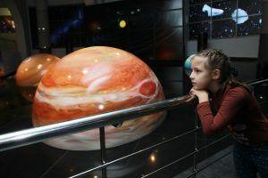 Онлайн-лекцию для детей проведут в Московском планетарии. Фото: Наталия Нечаева, «Вечерняя Москва»