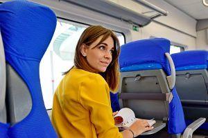 Пассажиры МЦК смогут воспользоваться вагонами тишины. Фото: Пелагия Замятина, «Вечерняя Москва»