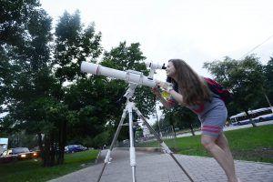 Покрытие Венеры Луной можно будет увидеть в Москве. Фото: Наталья Феоктистова, «Вечерняя Москва»
