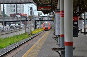 Пассажиров на МЦК стало почти на 70 процентов меньше. Фото: Анна Быкова