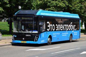 К концу года по Москве будет курсировать около 600 электробусов. Фото: Анна Быкова