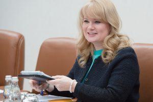 Наталья Сергунина, заместитель мэра Москвы в Правительстве Москвы