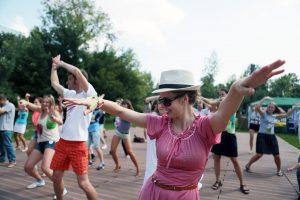 Танцевальные мастер классы-пройдут в парке «Красная Пресня». Фото: Анна Иванцова, «Вечерняя Москва»
