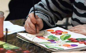 Сотрудники парка «Красная Пресня» организуют мастер-класс по живописи онлайн. Фото: сайт мэра Москвы