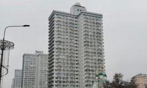 Замену фасадов жилых домов на Новом Арбате завершили. Фото предоставили в пресс-службе в Префектуре ЦАО