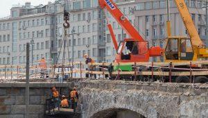 Ремонт Большого каменного моста закончат раньше срока. Фото: сайт мэра Москвы