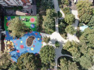 Благоустройство Михайловского сада завершили в ЦАО. Фото предоставили в Префектуре ЦАО